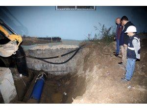 Sakarya'da şehre su verildi