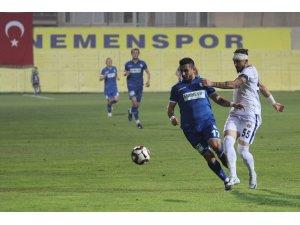 TFF 1. Lig: Ekol Göz Menemenspor: 0 - Büyükşehir Belediye Erzurumspor: 0
