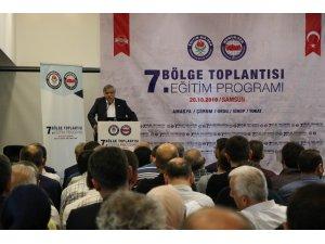 Eğitim Bir Sen 7. Bölge Toplantısı Samsun'da başladı