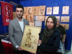 MHP Malatya İl Kadın Kolları sergi düzenledi