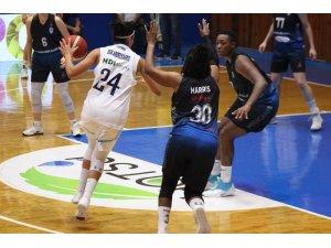 Kadınlar Basketbol Süper Ligi: Hatay BŞ.BLD: 97 - Canik Belediyespor: 58