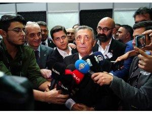 """Ahmet Nur Çebi: """"Beşiktaş'ın şerefi, namusu ve dik duruşu bize emanet"""""""