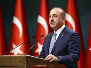 Dışişleri Bakanı Çavuşoğlu konuşuyor
