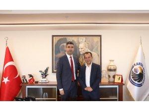Bolu Belediye Başkanı Özcan'dan Başkan Yüksel'e ziyaret