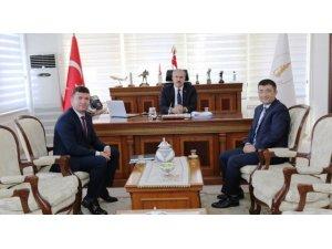DPÜSEM Müdürü Gül'den Kütahya protokolüne ziyaret