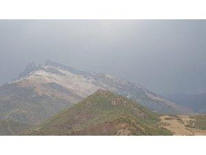 Kato dağına kar yağdı