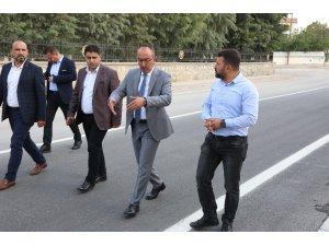 """Başkan Kavuş: """"2019 yılı asfalt hedefimizi yüzde 90 oranında yakaladık"""""""