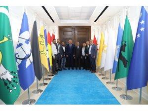 Milletvekili Kahtalı'dan, Başkanı Güder'e ziyaret