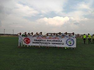 Barış Pınarı harekatına yeşil sahalardan destek