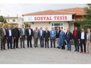 Hacılar Belediye Başkanı Özdoğan muhtarlarla buluştu