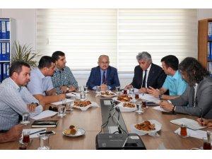Mersin'de 'Yol Trafik Güvenliği Yönetim Sistemleri' toplantısı yapıldı