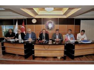 """Başkan Kılınç: """"Haksız kazanca el uzatanın elini keseriz"""""""
