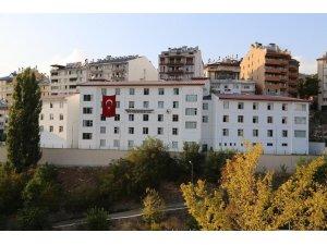 Tunceli'deki 200 kişilik kız yurdu tamamlandı