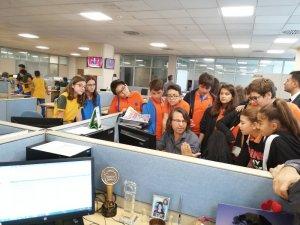 İhlas Koleji öğrencileri İhlas Medya'da