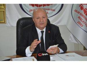 Oda Başkanı Ali Özgül, gayri menkul alacakları korsan emlakçılara karşı uyardı