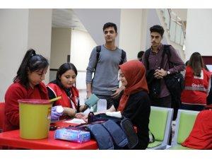 Bartın Üniversitesinden kan bağışına destek