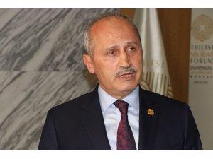 """Ulaştırma Bakanı Turhan: """"Türkiye'de Gürcistan'la ticaretini her yıl artırıyor"""""""