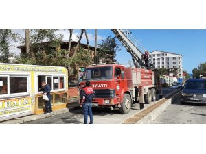 Tatvan'da karga kurtarma operasyonu