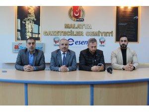 Yeni Malatyaspor TV'den Gazeteciler Cemiyeti'ne ziyaret