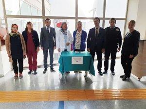 Şuhut Devlet Hastanesi'nden Organ Bağışı Haftası etkinliği