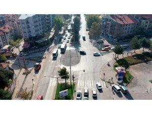 Isparta'da iyileştirilen kavşaklarla, yılda 1.5 milyon lira yakıt tasarrufu sağlanacak