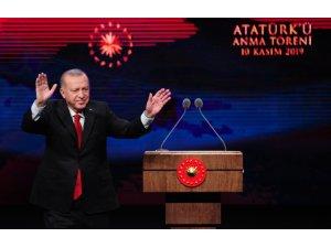 """Cumhurbaşkanı Erdoğan'dan Osmanlı iddialarına sert yanıt: """"Hepsi yalandır, iftiradır"""" (2)"""
