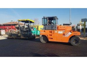 Odunpazarı'nda asfalt çalışmaları sürüyor