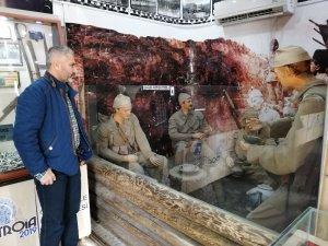 'Çanakkale 1915 Müzesi Tırı' Salihli'de