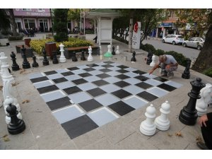 Sapanca'da Sokak Satrancı Projesi hayat buluyor