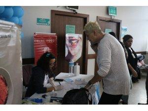 ''14 Kasım Dünya Diabet Günü''nde 300 vatandaşın kan şekerini ölçtüler