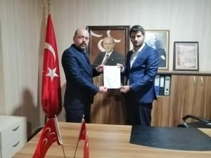 MHP Bozüyük İlçe Başkanlığına Serdar Pehlivan atandı