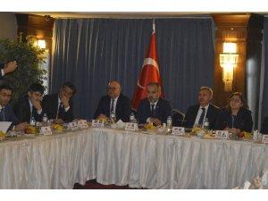 Ağrı'da Türkiye Belediyeler Birliği (TBB) toplantısı yapıldı