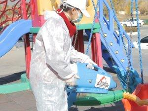 Tepe Servis AVM'lerdeki çocuk oyun alanları çevreye duyarlı ürünlerle dezenfekte etti