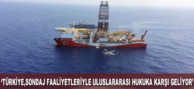 Kıbrıs: Türkiye, sondaj faaliyetleriyle uluslararası hukuka karşı geliyor