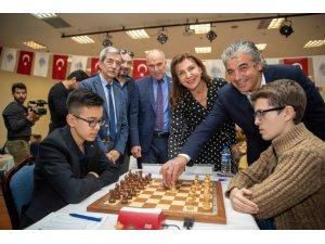 4. Uluslararası Mersin Satranç Turnuvası başladı