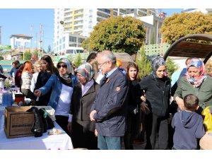 Mardin'de evde  artık sıfır atık etkinliği