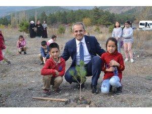 Tosya'da öğrencilerden en anlamlı öğretmenler günü hediyesi