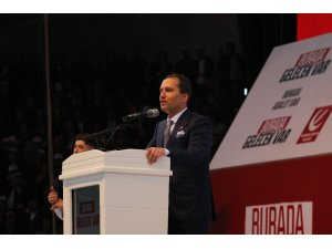 Yeniden Refah Partisi 1. Olağan Büyük Kongresi