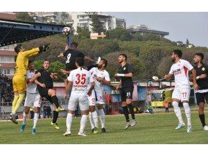 Aliağaspor FK, deplasmandan puansız döndü