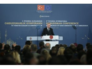"""Cumhurbaşkanı Erdoğan: """"Birileri petrol paylaşımının içinde, derdimiz petrol değil insan dedik"""""""