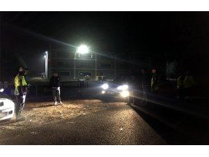 Muratlı'da yol kontrolleri