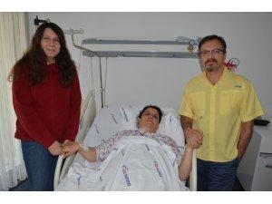 Ömür boyu diyalize mahkum kalacaktı, sağlığına kavuştu