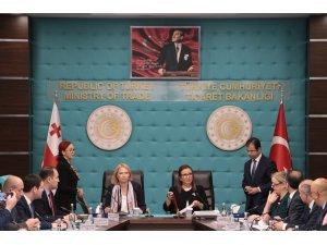 """Ticaret Bakanı Pekcan: """"Türkiye ile Gürcistan arasındaki ticaret hacmi 1.5 milyar dolara ulaştı"""""""