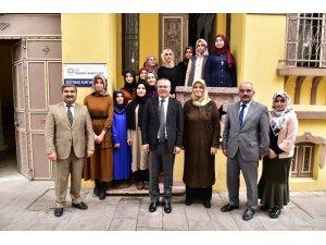 Restore edilen tarihi bina Kur'an kursu öğrencilerini ağırlıyor