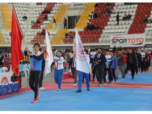 Taekwondo Türkiye Şampiyonası'nın seremonisi yapıldı