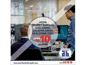 Aydın Ticaret Borsası üyelerine indirimli yabancı dil öğrenme imkanı
