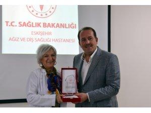 Eskişehir Ağız ve Diş Sağlığı Hastanesinde 'Diş Hekimleri Günü' kutlandı