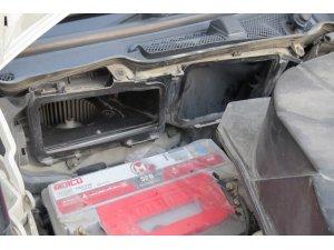 Motorun hava filtresinden tabanca çıktı