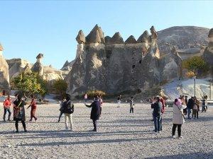 Türkiye 40 milyon 719 bin 786 yabancı ziyaretçi ağırladı