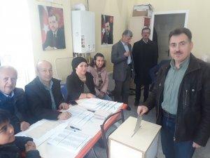 AK Parti Çanakkale teşkilatında coşkulu seçim